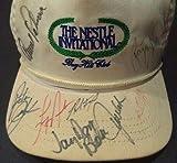 Payne Stewart & Arnold Palmer Golf Legends Signed Bayhill Club Hat Loa Rare - JSA Certified - Autographed Golf Equipment