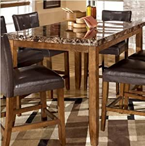 Amazon.com - Lacey Rectangular Counter Height Dining Table ...