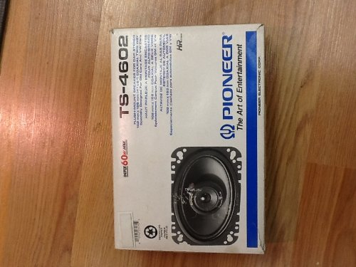 """Ts-4602 4"""" X 6"""" Coaxial Two Way Speakers"""