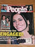 October 1998 People Magazine Courtney Cox & David Arquette Cover (October 1998)