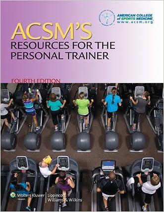 ACSM Personal Trainer Study Kit written by Lippincott  Williams %26 Wilkins
