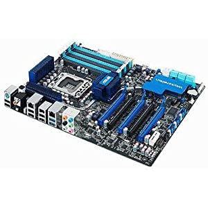 ASUS P6X58-E Ws Intel X58 Chipset Digi+vrm Epu Ai Suite II Computer Mtherboard