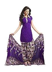 KESAR FASHION Women's Printed Unstitched Regular Wear Dress Material