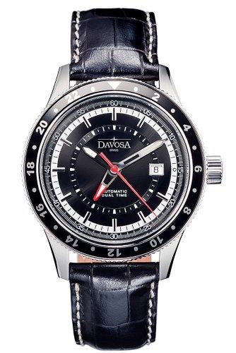 Davosa 16150155 - Orologio da polso colore nero