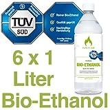 6-x-1L-Bioethanol-966-6-Liter-in-1L-Flaschen-zum-handlichen-sicheren-Gebrauch-TV-geprfte-Reinheit-Qualitt-Sicherheit-nachhaltige-Herstellung-Made-in-Germany-AKTIONSPREIS-NUR-248-EURL