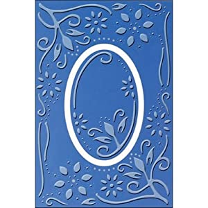 Provo Craft Cuttlebug Plus A2 Embossing Folder, Carly
