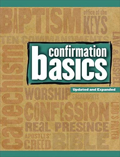 Confirmation Basics: Revised Edition PDF