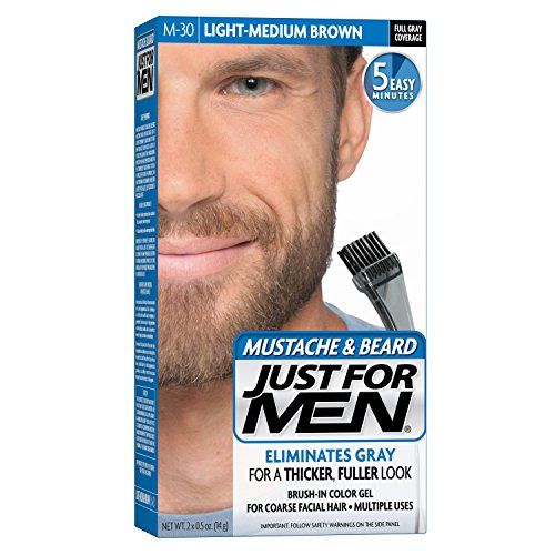 Just For Men - Tintura in gel per barba e baffi