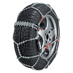 Thule 10mm CS10 Super-Premium Passenger Car Snow Chain, Size 100 (Sold in pairs)