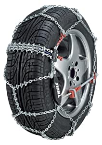 Thule 10mm CS10 Super-Premium Passenger Car Snow Chain, Size 103 (Sold in pairs) by Thule