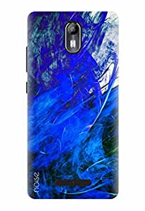 Noise Designer Printed Case / Cover for Micromax Canvas Evok E483 / Patterns & Ethnic / Expressive Shades Design