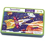 Mudpuppy Spaceships Magnetic Design Set Multi