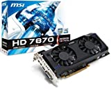 Msi V274-015R Radeon HD 7870 GHz Edition Grafikkarte (ATI, P...