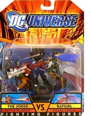 Buy Low Price Mattel –  DC Universe Fighting Figures Series 1 Batgirl vs. Joker Action Figure 2-Pack (B0035NHCHS)