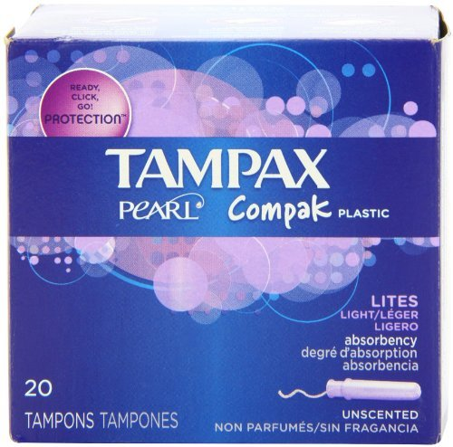tampax-pearl-compak-plastic-lites-light-absorbency-unscented-tampons-20-count-by-tampax