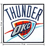 Oklahoma City Thunder Style-1 Embroidered Sew On Patch Amazon.com