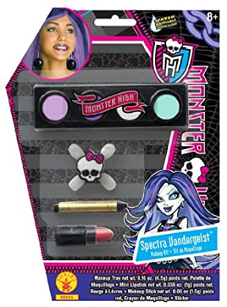 Rubies Costume Company Womens Monster High Spectra Vondergeist Makeup Kit