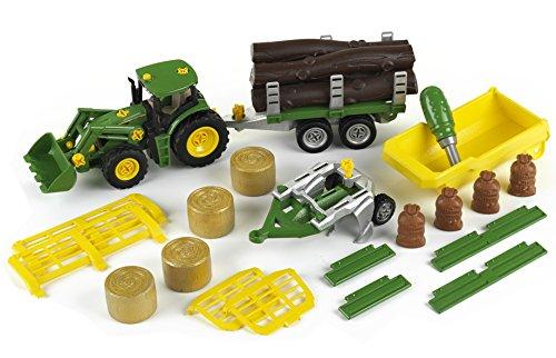 theo-klein-3907-modellino-di-trattore-john-deere-con-ribaltabile-e-rimorchio-per-trasporto-di-legna-