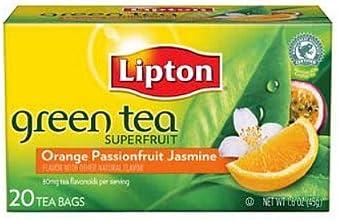 Lipton Green Tea Orange Passion Fruit amp Jasmine-20 bags