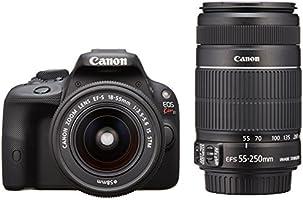 Canon デジタル一眼レフカメラ EOS Kiss X7 ダブルズームキット EF-S18-55mm/EF-S55-250mm付属 KISSX7-WKIT