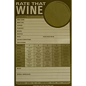 Wine tasting notes template wine press blogger for Wine tasting sheet template