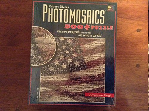 Photomosaics Jigsaw Puzzle - American Flag