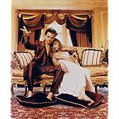 ブロマイド写真★『ロミオ+ジュリエット』ソファーに座る2人/レオナルド・ディカプリオ、クレア・デーンズ