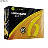Bridgestone E6 Optic Yellow Golf Balls, 1 Dozen (2011 Model)