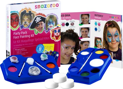 Snazaroo Face Paints Party Pack Face Painting Kit