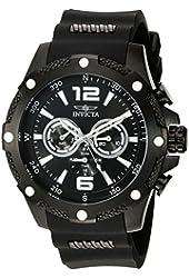 Invicta Men's 19662 I-Force Analog Display Swiss Quartz Black Watch