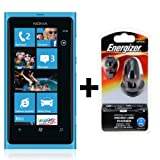 NOKIA Lumia 800 cyan any operator - (3in1 UK charger included)