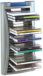 beco cd st nder f r 24 cds auch als cd flip computer zubeh r. Black Bedroom Furniture Sets. Home Design Ideas