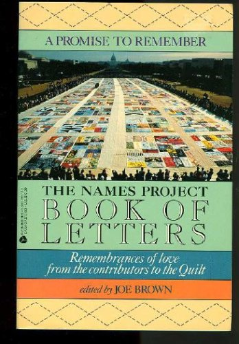 A Promise to Remember: The Names Project Book of Letters