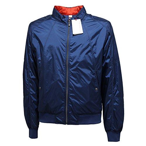 O868N giubbotto linea TRUSSARDI JEANS giacche uomo jacket coat men blu [50]