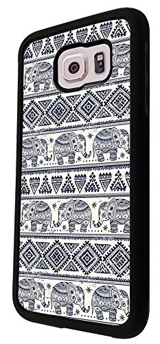 364 - Multi Elpehant Multi Art Aztec Design Für Alle Samsung Galaxy S3 / Galaxy S3 mini / Galaxy S4 /Galaxy S4 Mini / Galaxy S5 / Galaxy S5 Mini / Galaxy S6 / Galaxy S6 Edge / Samsung Galaxy A3 / Galaxy A5 / Samsung Galaxy Galaxy Alfa / Galaxy Ace 4 / Samsung Galaxy Grand Prime Fashion Trend Hülle Schutzhülle Case Cover Metall und Kunststoff - Bitte wählen Sie Ihr Telefonmodell und Farbe aus der Dropbox