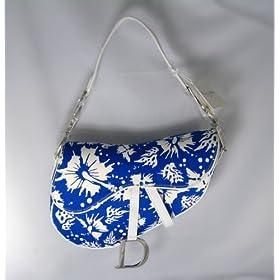 Dior Handbags (Blue/White) Surf Print Saddle Bag SFJ44001
