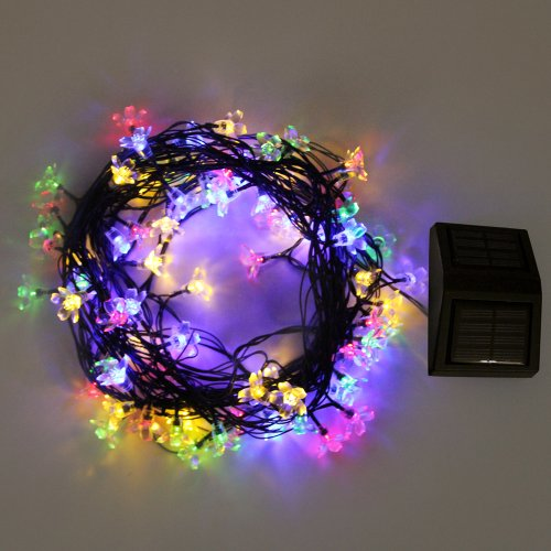 Solar Outdoor String Lights By Innoo Tech: Innoo Tech Outdoor String Lights Solar Waterproof Fairy