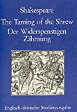 The Taming of the Shrew. Der Widerspenstigen Z�hmung