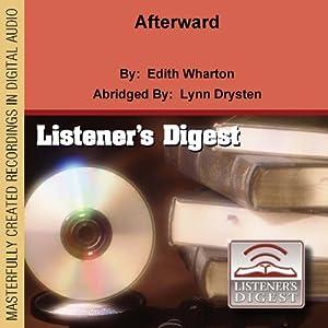 Afterward | [Edith Wharton]
