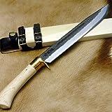 土佐室戸型剣鉈 豊国作 300 白 tmuroto-004
