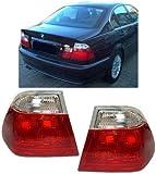 BMW E46 Limousine 98-01 R�CKLEUCHTEN ROT WEISS KLAR
