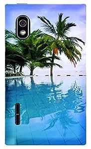 TrilMil Printed Designer Mobile Case Back Cover For LG Optimus L5 Dual E615