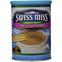 Swiss Miss Hot Cocoa Mix, No Sugar Added, 13.8 oz