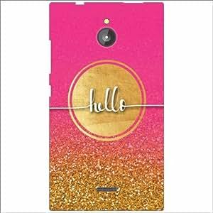 Asus Zenfone Laser ZE 550KL Back Cover - Silicon Hello Designer Cases