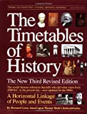 The Timetables of History: A Horizontal Linkage of People and Events (067174271X) by Bernard Grun