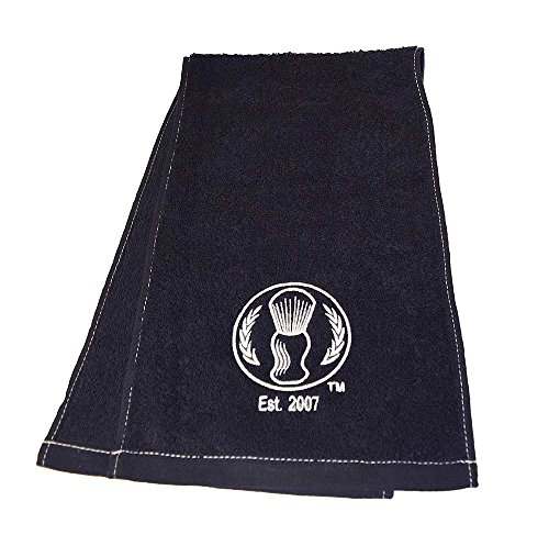 Barber Pro Barbers Shave Towel, Black DealTrend
