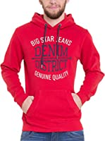 Big Star Sudadera con Capucha (Rojo)