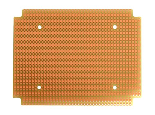 PR1590BB ProtoBoard for 1590BB Box, 2-Hole Pads, 1 Sided PCB, 3.20 x 4.25 in (81.3 x 108.0 mm) - 1