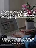 img - for From Blank Space to Blogging Brilliance: A Step by Step Guide to Start & Grow a Successful Blog book / textbook / text book