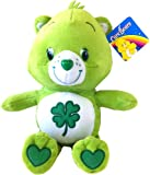 Care Bears Soft Toy. Good Luck Care Bear 12 inch Soft Toy